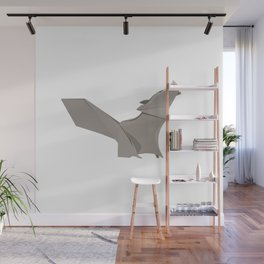 Origami Wolf Wall Mural