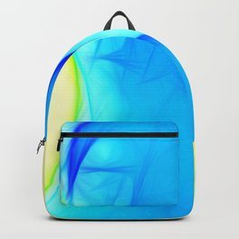 Blue woman Backpack