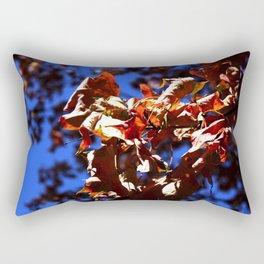 Crisp Fall Leaves Rectangular Pillow