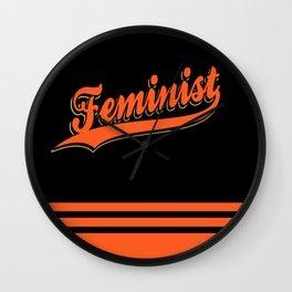 Feminist: SF Giants Wall Clock
