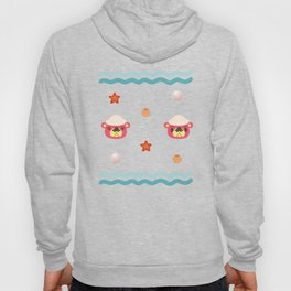 ac cute scallop lover pascal Hoody