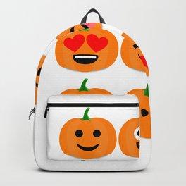 pumpkinemoji1 Backpack