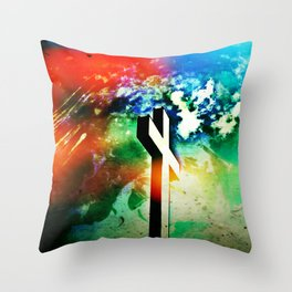 Holy Cross Armageddon  Throw Pillow