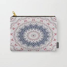 Dreamcatcher Berry & Blue Carry-All Pouch