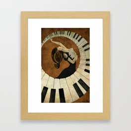 Key to the Soul Framed Art Print