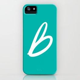 Recettes du Bonheur - Bleu iPhone Case