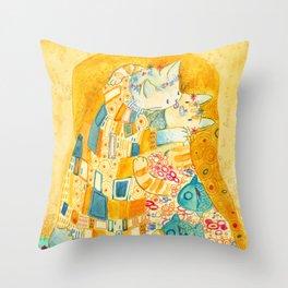 The Mlem Throw Pillow