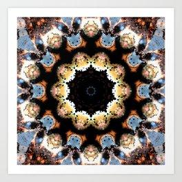 Inner Flower Mandala Art Print
