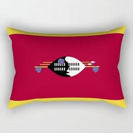 Swaziland flag emblem Rectangular Pillow