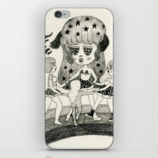 Pizza Ring iPhone & iPod Skin