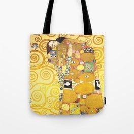 """Gustav Klimt """"Fulfillment"""" Tote Bag"""