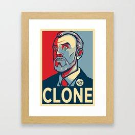 Kriegclone Framed Art Print