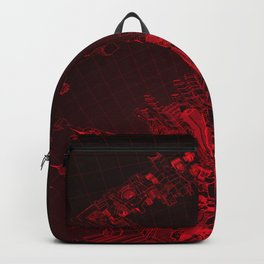 Future City Red Backpack
