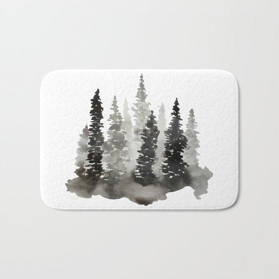 Fading Forest Bath Mat