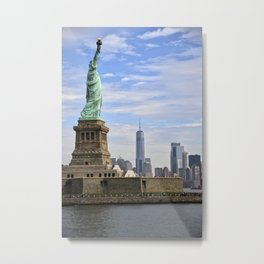 Lady of Freedom Metal Print