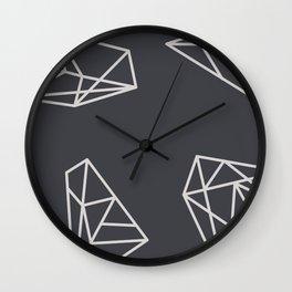 Silent Mind Construction Wall Clock