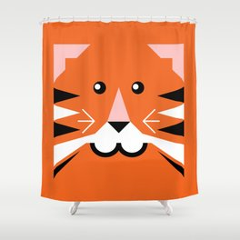 Terry tiger Shower Curtain