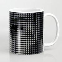 hepburn Mugs featuring Hepburn by Robotic Ewe