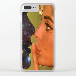 Lust In Space Clear iPhone Case