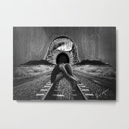 Lost Girl Metal Print