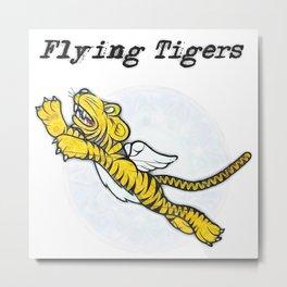 Flying Tigers Metal Print