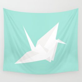 #96 Paper Crane Wall Tapestry