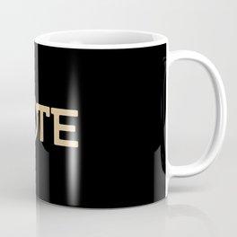 Vote Peace Coffee Mug