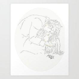 Whouffle Art Print