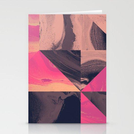 Triangular Magma Stationery Cards