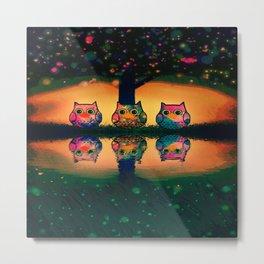 owl-207 Metal Print
