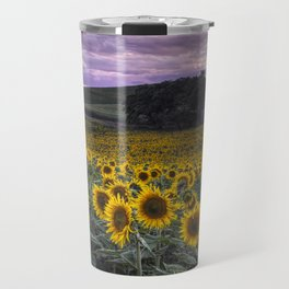 Summertime Sunflowers Travel Mug
