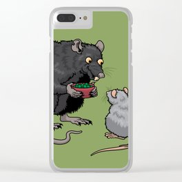 Rat Candy Clear iPhone Case