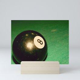 Eight Ball-Green Mini Art Print