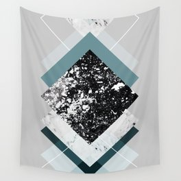 Geometric Textures 8 Wall Tapestry