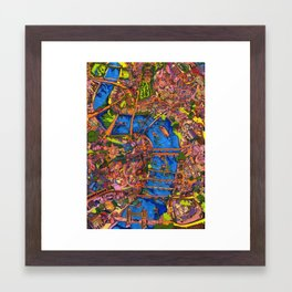 So Much to See Framed Art Print