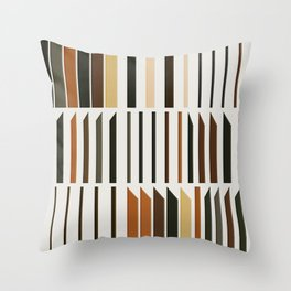 Abstract Composition 563 Throw Pillow