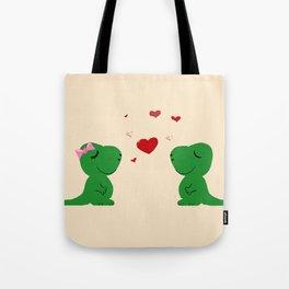 Baby Dinosaur Love Tote Bag