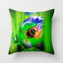 Mysterious World Throw Pillow