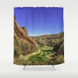 Arrowhead Golf Course Hole 13 Shower Curtain