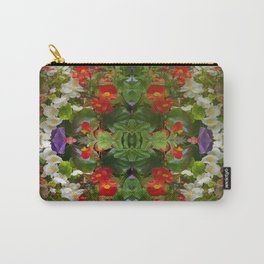 Flowers reflections on the double. Carry-All Pouch