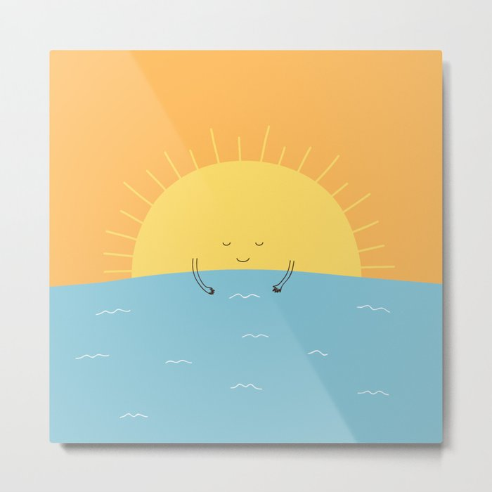 good morning sunshine! Metal Print
