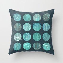CELESTIAL BODIES - MIDNIGHT Throw Pillow