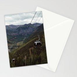 Telluride gondolas Stationery Cards