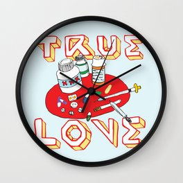 True Love Wall Clock