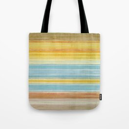 Colorbands Yellowstone Yellow Tote Bag
