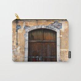 Sicilian facade of Taormina Carry-All Pouch