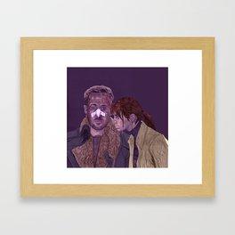 k and joi Framed Art Print