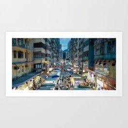 Fa Yeun St., Hong Kong 2 Art Print