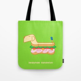 Sealyham Sandwich Tote Bag