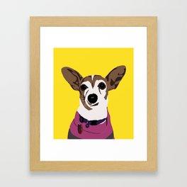 Poppy the Jack Framed Art Print
